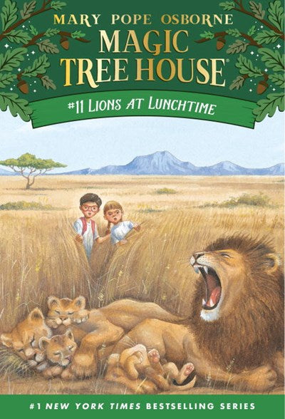 Lions at Lunchtime ( Magic Tree House #11 )