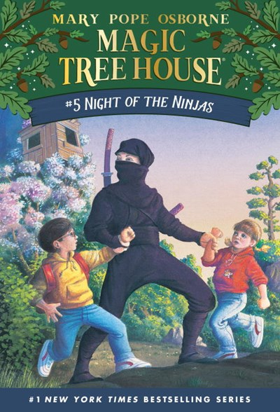 Night of the Ninjas ( Magic Tree House #05 )