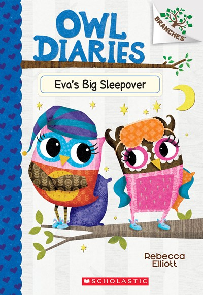 Eva's Big Sleepover ( Owl Diaries #9 )