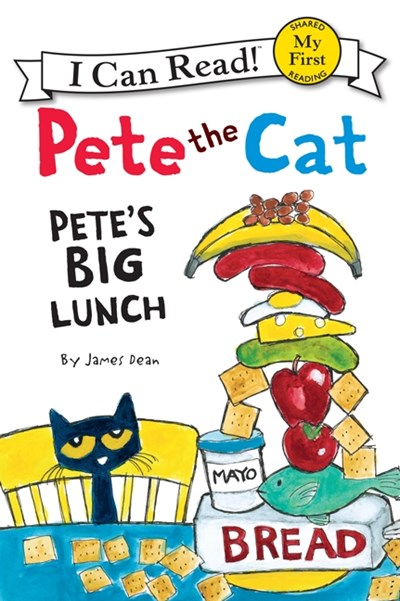 Pete's Big Lunch ( My First I Can Read )