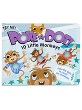 Load image into Gallery viewer, Poke-A-Dot: 10 Little Monkeys