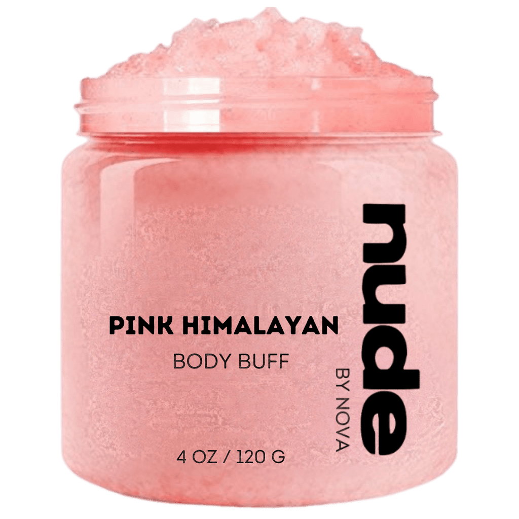 PINK HIMALAYAN BODY BUFF - NUDE by Nova