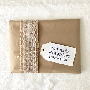eco gift wrapping service by Love the Earth