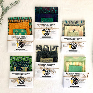 3-PACK BEESWAX WRAP KITS