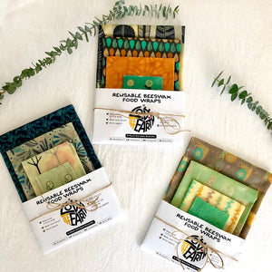 4-PACK BEESWAX WRAP KITS
