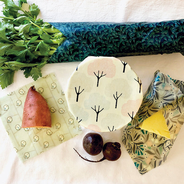 4-PK WINTER GARDEN BEESWAX WRAPS INSITU