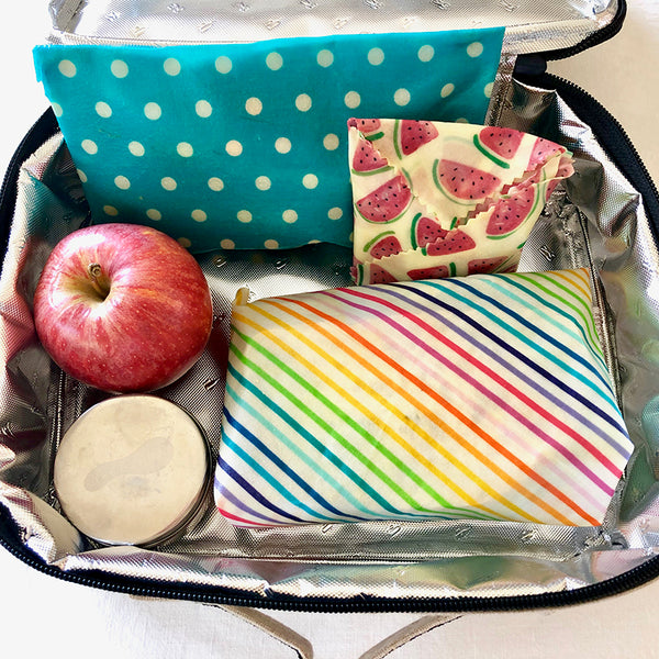 3-PK TUITTI FRUITTI BEESWAX WRAPS LUNCHBOX KIT INSITU