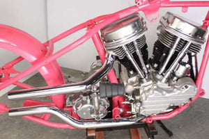 Panhead Exhaust Set Side by Side Style