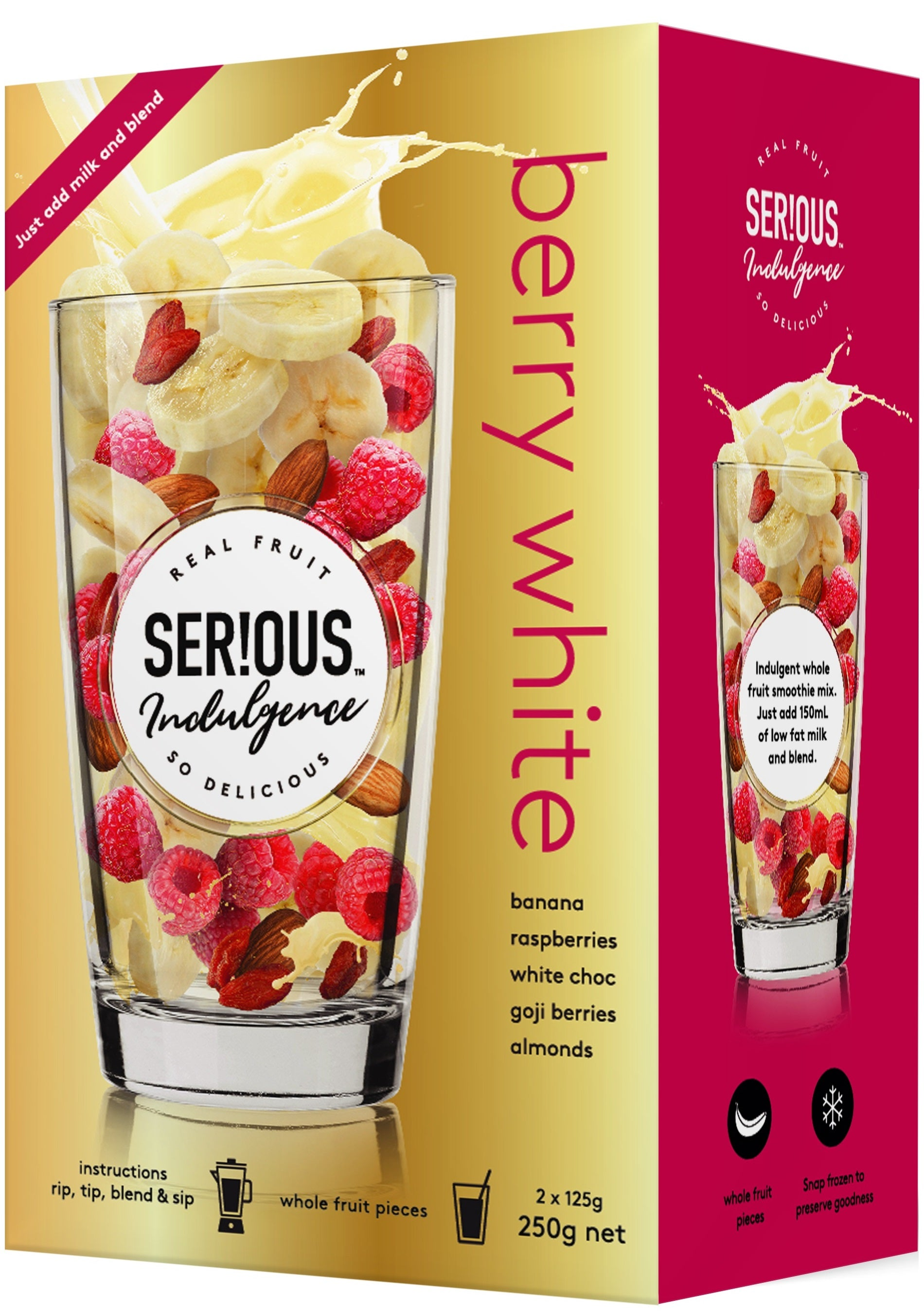 Serious Indulgence Berry White
