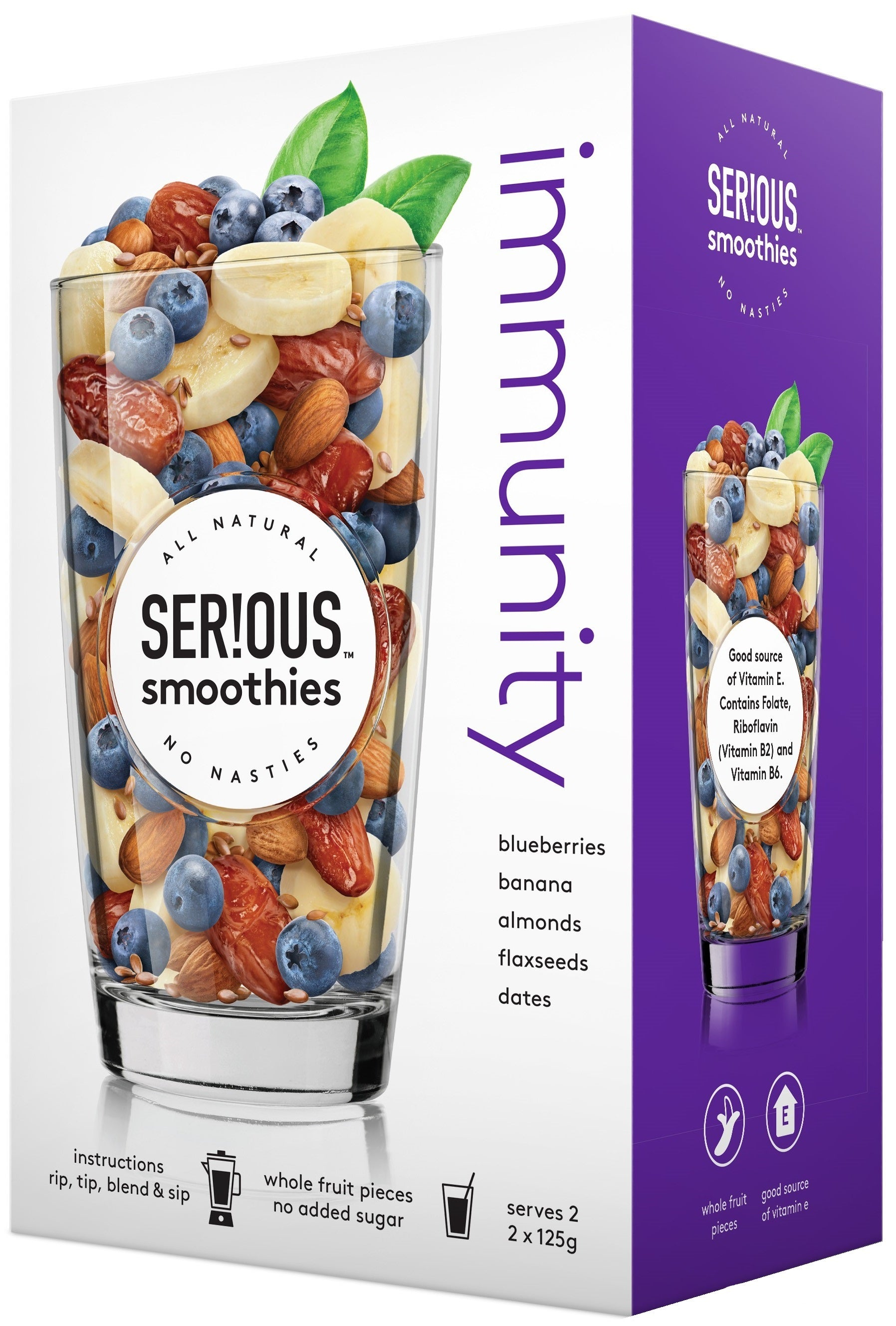 Serious Smoothies Immunity