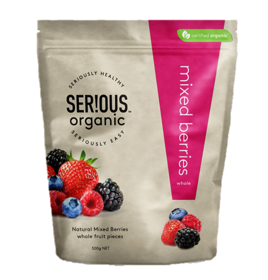 Serious Organic Mixed Berries