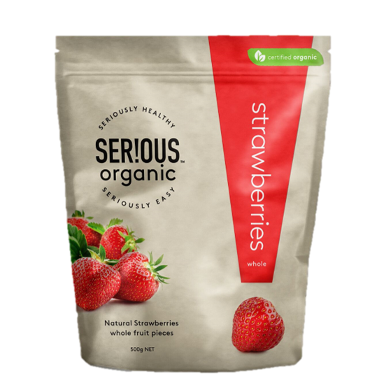 Serious Organic Strawberries