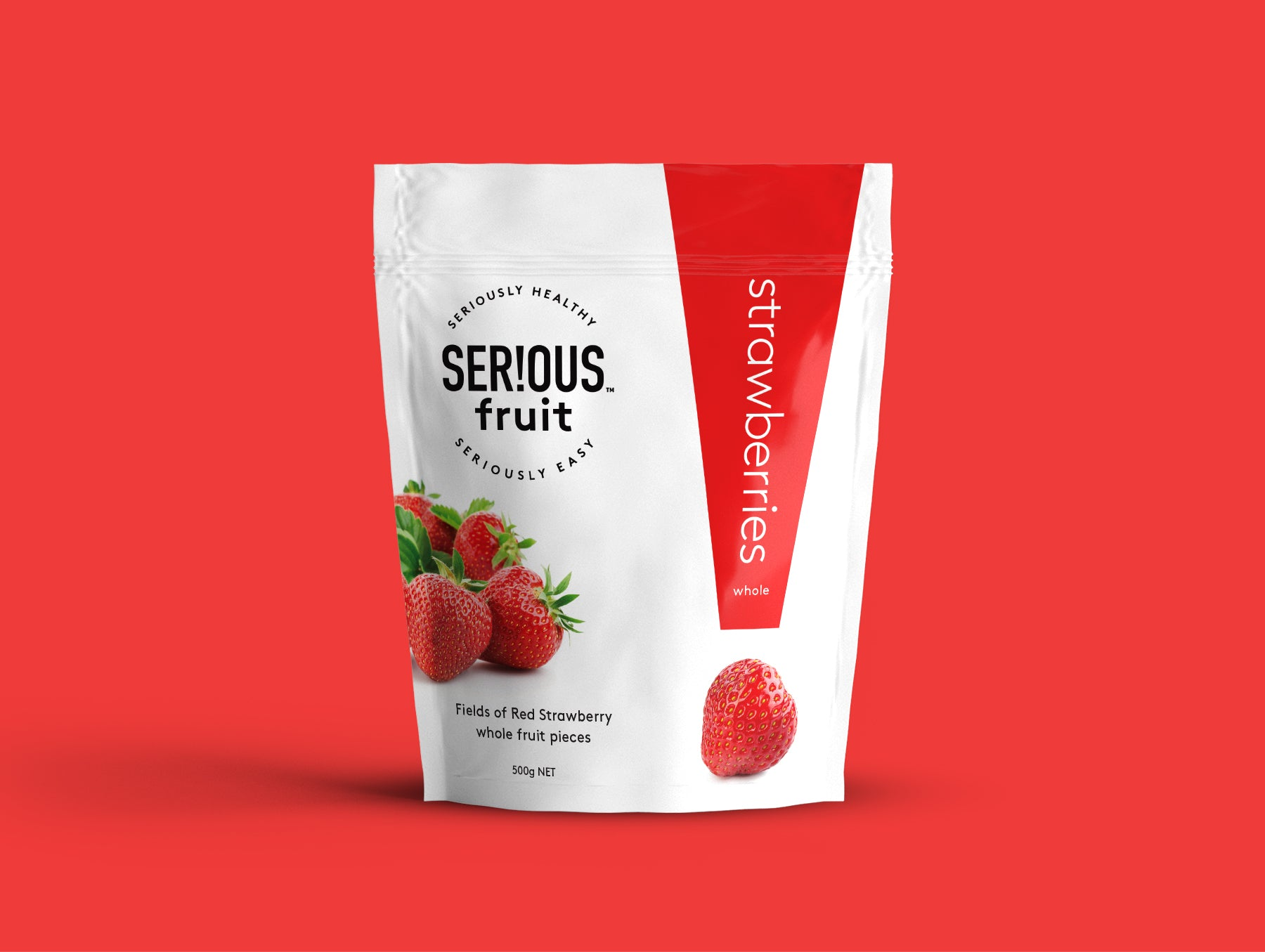 Serious Fruit Strawberry 12 x 500
