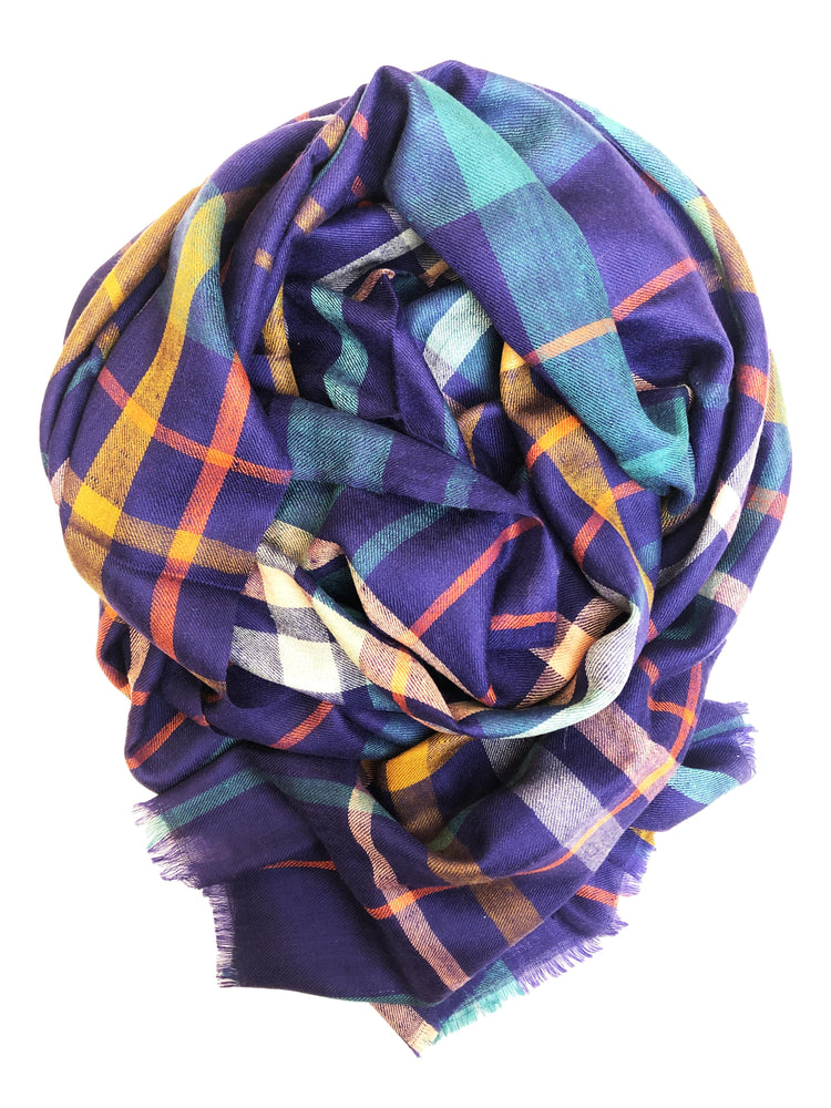 Tartan – night blue