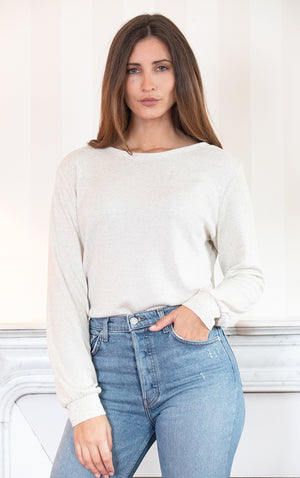 Reversible Idesia Cream Sweater