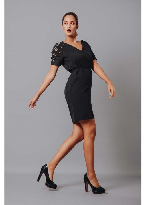 Aki Dress - black
