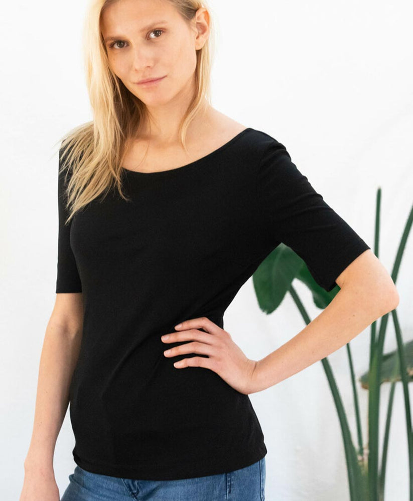 Jasmin T-Shirt - black