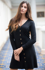Camélia Dress - black