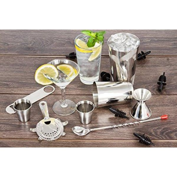 16 Pcs Cocktail Shaker Bar Set