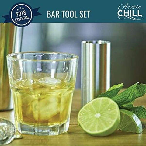 Arctic Chill-3-Piece Stainless Steel Muddling Set