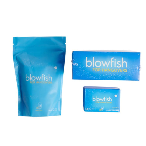 Blowfish for Hangovers12 Tablets - Gift Box