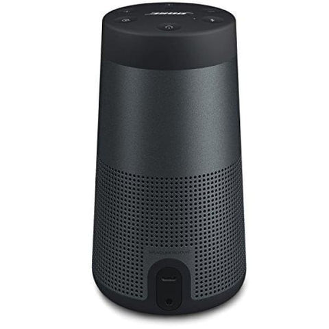 Bose SoundLink Revolve Portable Bluetooth 360 Speaker, Triple Black (739523-1110)