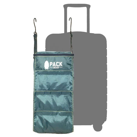 Pack Gear Basics-Velcro Closure Backpack Organizer green / teal