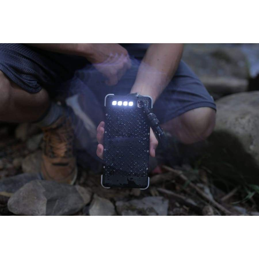 RoamProof SOS 20K Powerbank-Waterproof Solar Battery Charger with Flashlight