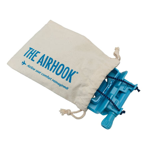 The Airhook Air Travel Cup and Electronics Device Holder (Sky Blue)