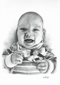Commission - Baby portrait - 2020