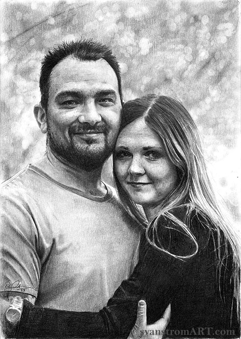 Commission - Couples portrait - 2017