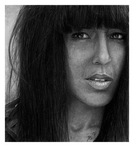 Loreen pencil portrait
