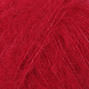 Drops Brushed Alpaca Silk - Red 07