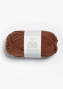 Sandnes Peer Gynt  - Chocolate Brown 3062