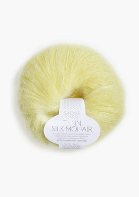 Sandnes Tynn Silk Mohair - Light Yellow 2101