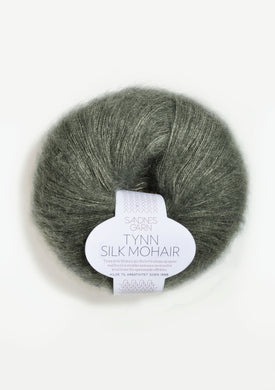 Sandnes Tynn Silk Mohair - Light Olive 9071