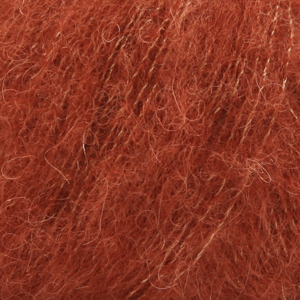 Drops Brushed Alpaca Silk - Rust - 24