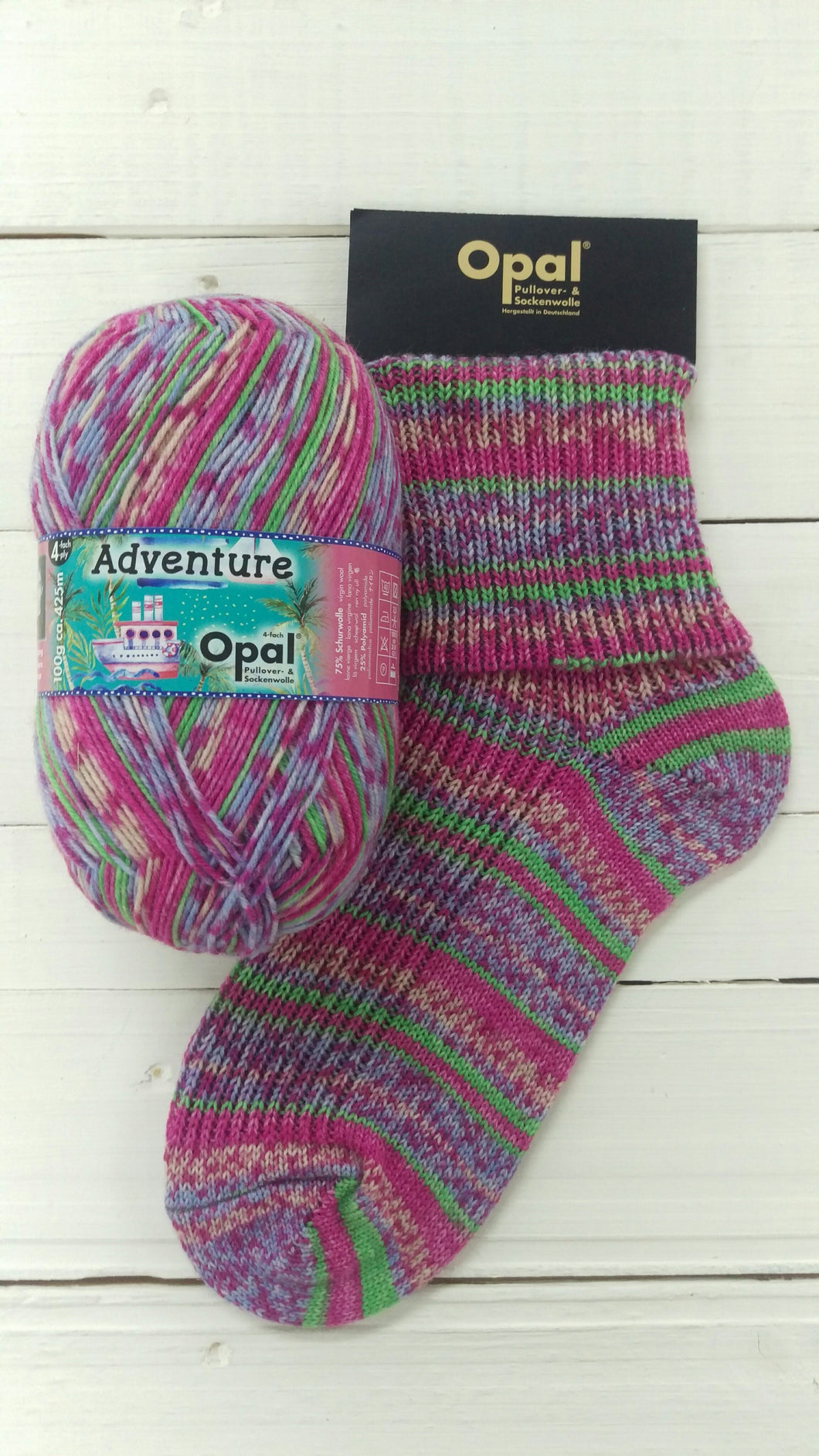 Opal Adventure 4 ply Sock Yarn