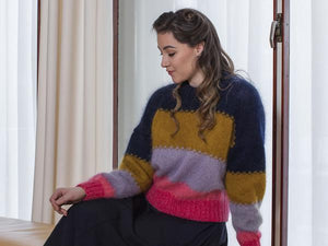 OLGA Sweater Knitting Pattern