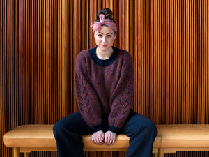 Yrsa - Contemporary Sweater Knitting Pattern