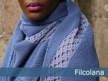 Load image into Gallery viewer, Daria Lace Shawl Knitting Pattern