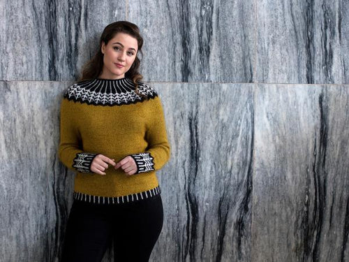 Mejse Sweater Knitting Pattern