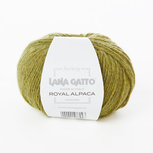 Lana Gatto Royal Alpaca - Moss Green 9157