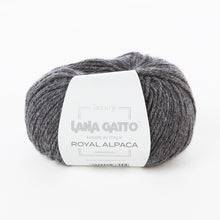 Load image into Gallery viewer, Lana Gatto Royal Alpaca - Dark Grey 9173