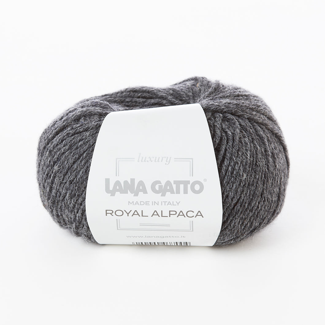 Lana Gatto Royal Alpaca - Dark Grey 9173