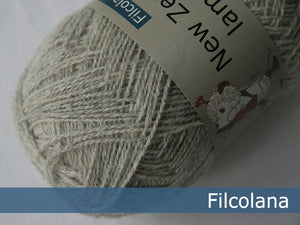 Pre order Filcolana Saga - Very Light Grey (melange) - 950 x 10 Balls