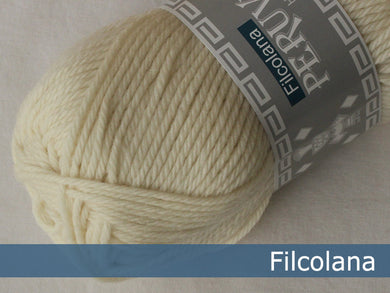Filcolana Peruvian Highland Wool - Natural White 101