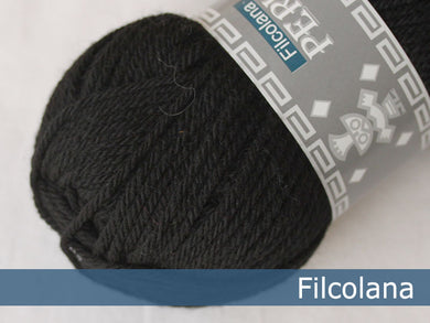 Filcolana Peruvian Highland Wool - Black - 102