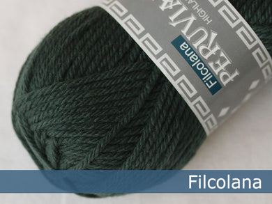 Filcolana Peruvian Highland Wool - Hunter Green - 147