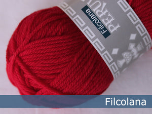 Filcolana Peruvian Highland Wool - Chinese Red - 218